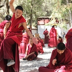 Road to Lhasa 13.  Sera Monastery, near Lhasa   oct11