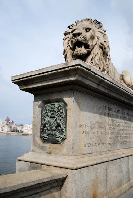 Lion of the Chain Bridge