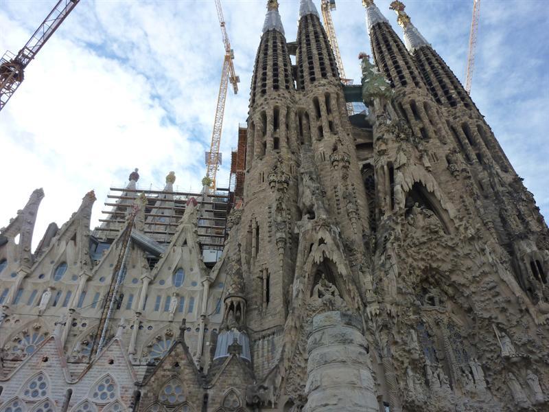 Sagrada Familia, Barcelona (12.8)