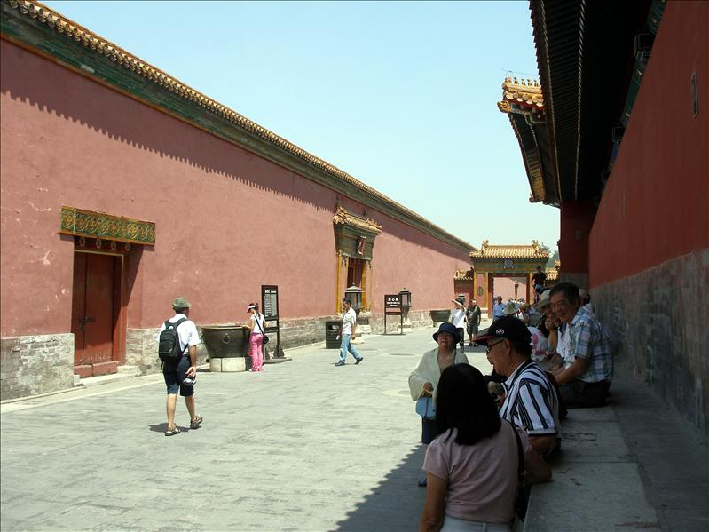 Forbidden City. Built in the 1400's, consists of over 900 buildings and around 8,700 rooms.