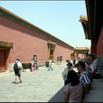 Forbidden City. Built in the 1400