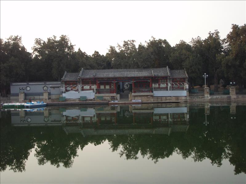 boathouse, forbidden palace