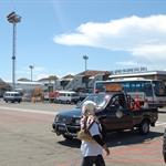 after 7 hours, we finally arrive at Ngurah Rai airport at Bali