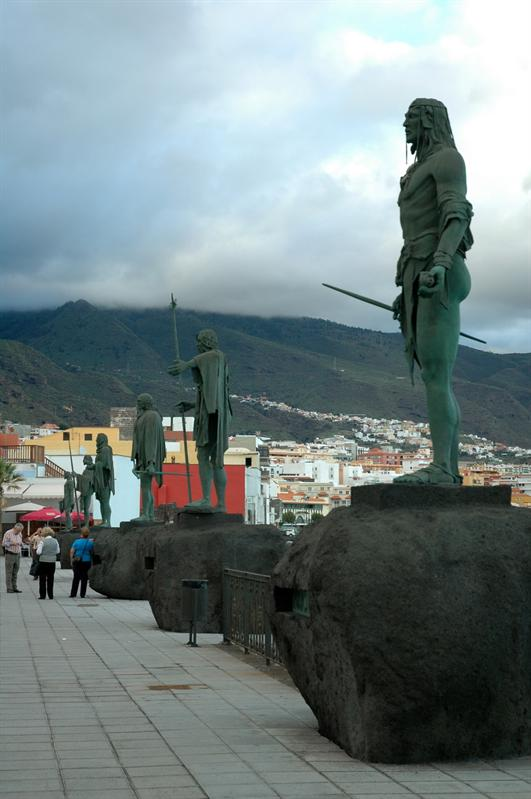 Candelaria, Guanches kings
