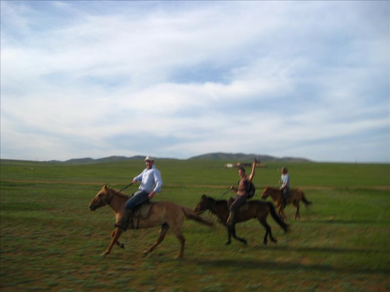 Galloping!