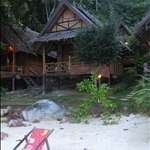 Our relaxing beach hut