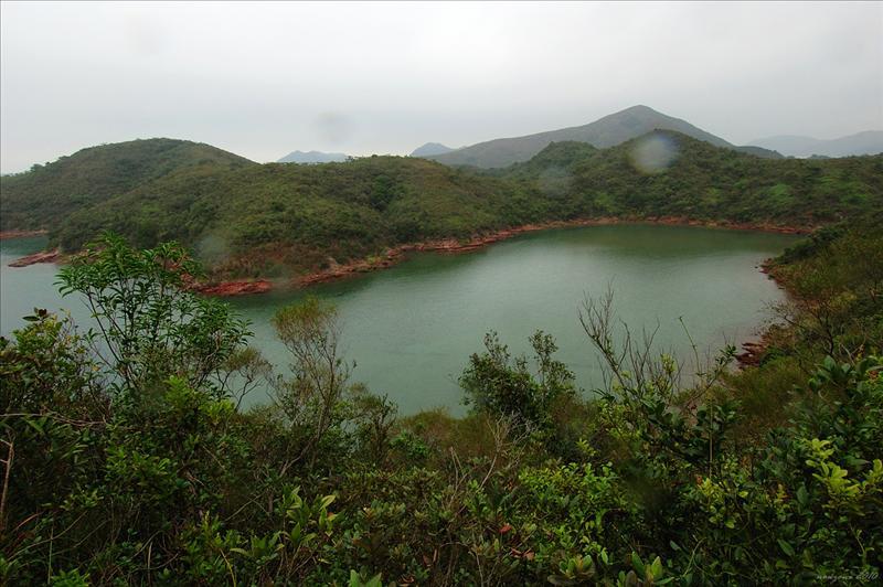 下望大水湖灣 Tai Shui Wu