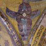 Mosaic: angel with 6 wings