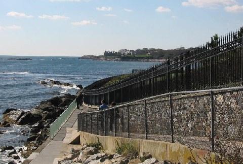 Famous Cliff Walk