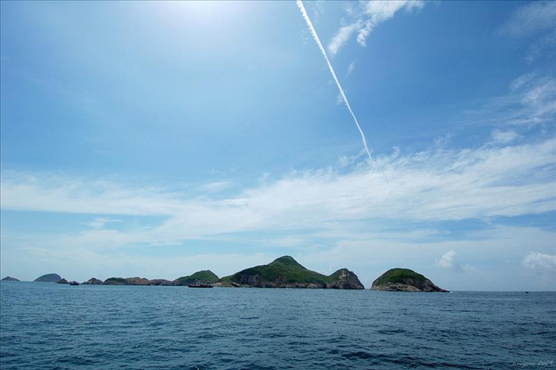 果洲群島又名九針群島
