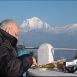 Annapurna Treks - Breakfast in the mountain...