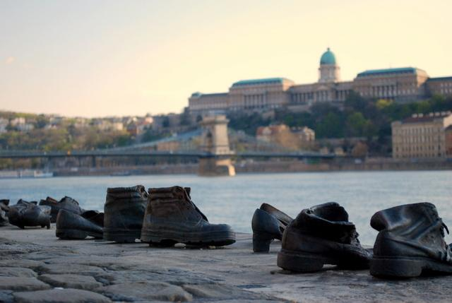 Shoes on the Danube Promenade Memorial