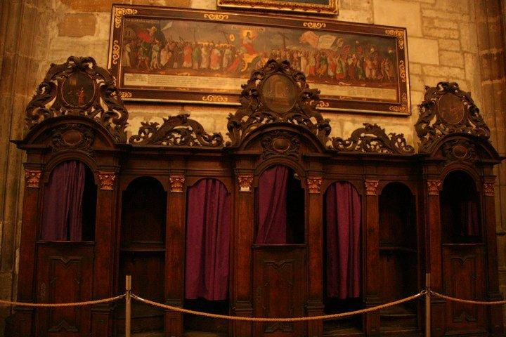 Confession room?