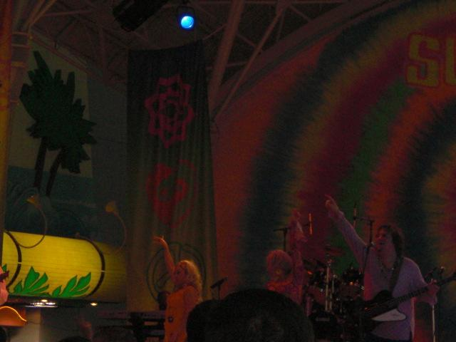 """Another singing act in """"Summer of '69"""" @ Freemont street"""