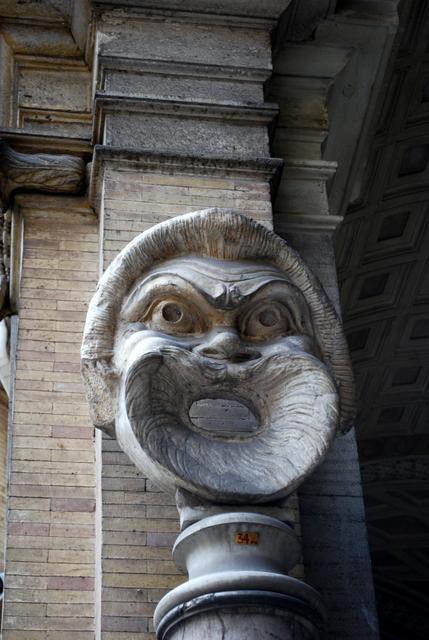 Peculiar mouth