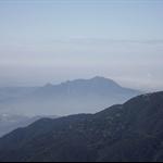 遠眺上週登山處-觀音山