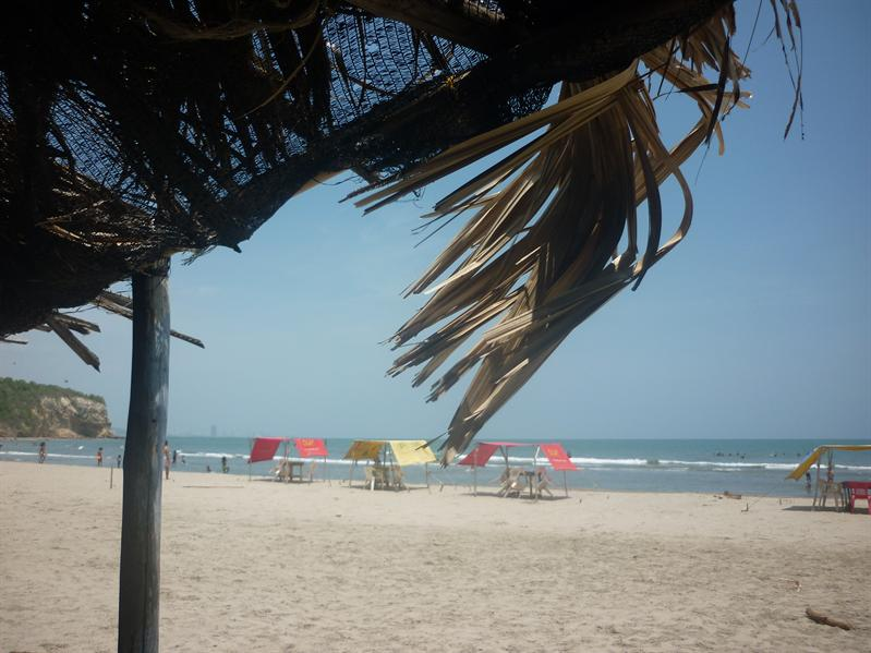 Lovely beach in Cartagena....
