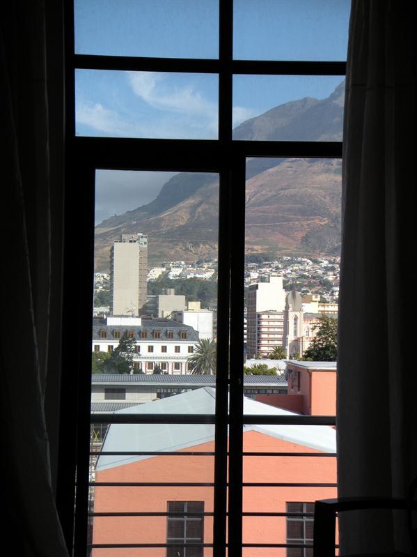View through window of Urban Chique