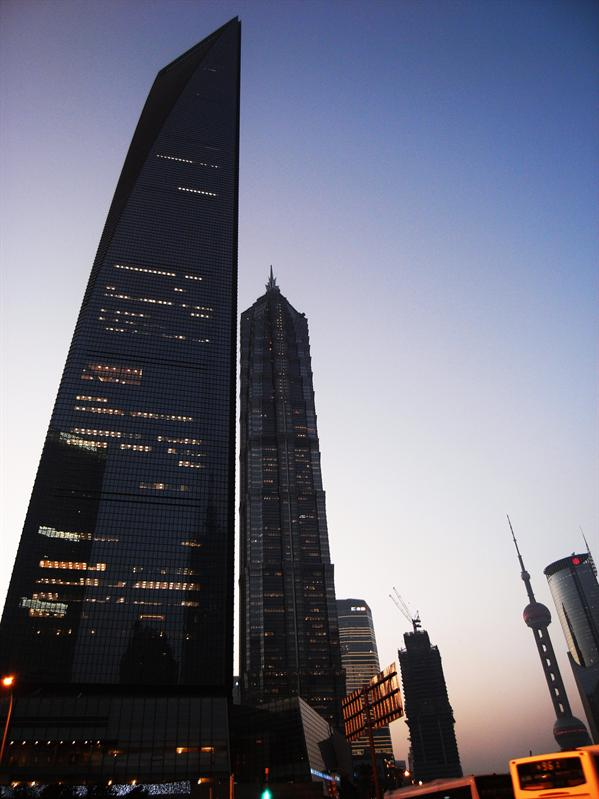Shanghai World Financial Center & jin mao tower