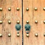 Entrance door to Jing