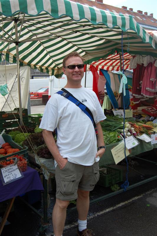 "Matt at Vienna Market  ""Naschmarkt"""