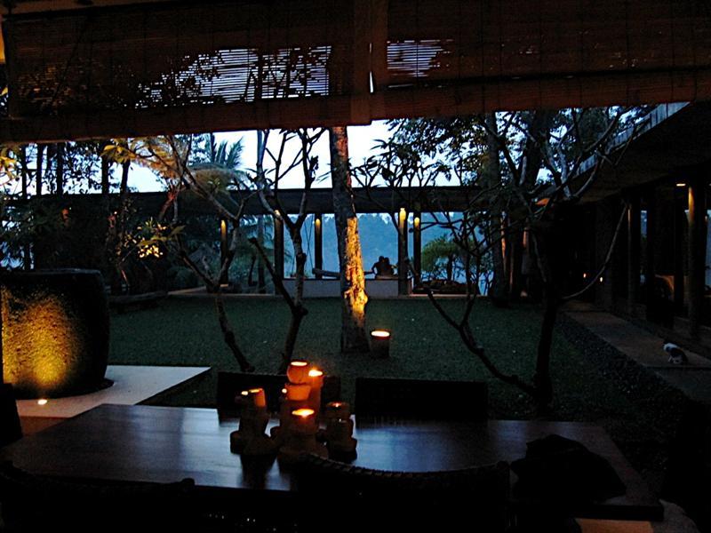 At Kuan's beautiful place in Syan