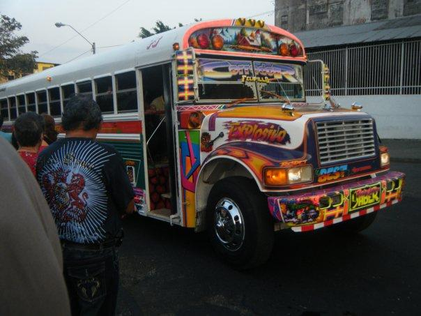 Crazy panama coty buses