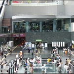 I know this Kyoto station is huge it has a mall