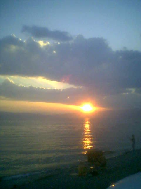 sunset ohrid