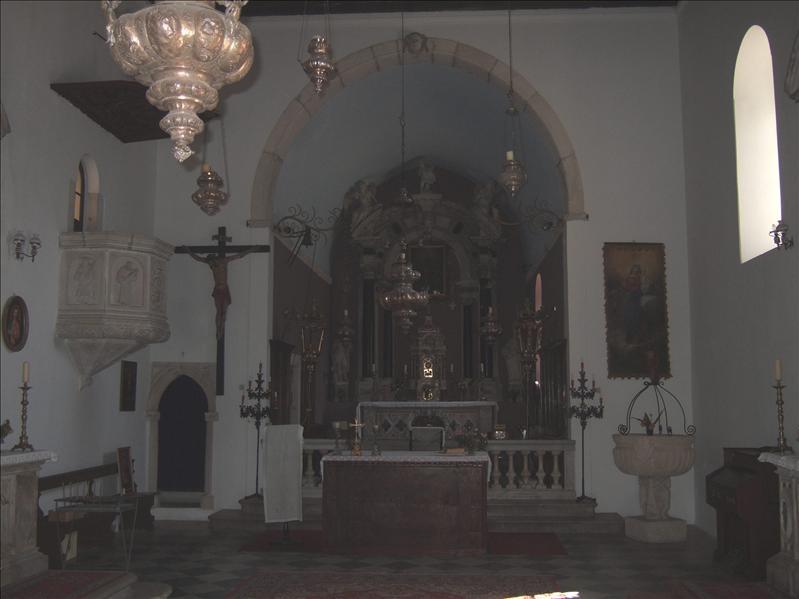 Church of St Nikola, Perast