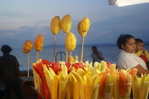 The street foods were amazing, and artistically displayed to catch your eye and wet your mouth.