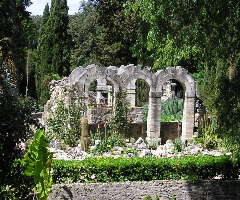 One of the oldest Botanical gardens in Europe.