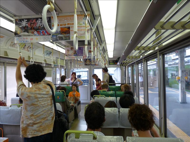 taking the subway to nara