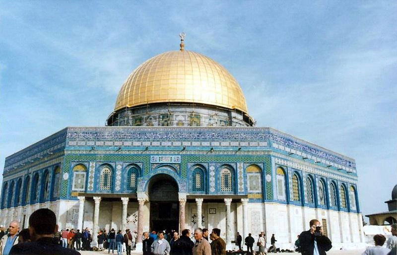 Mosque of Omar(Dome of the Rock)奧瑪清真寺(岩石頂)