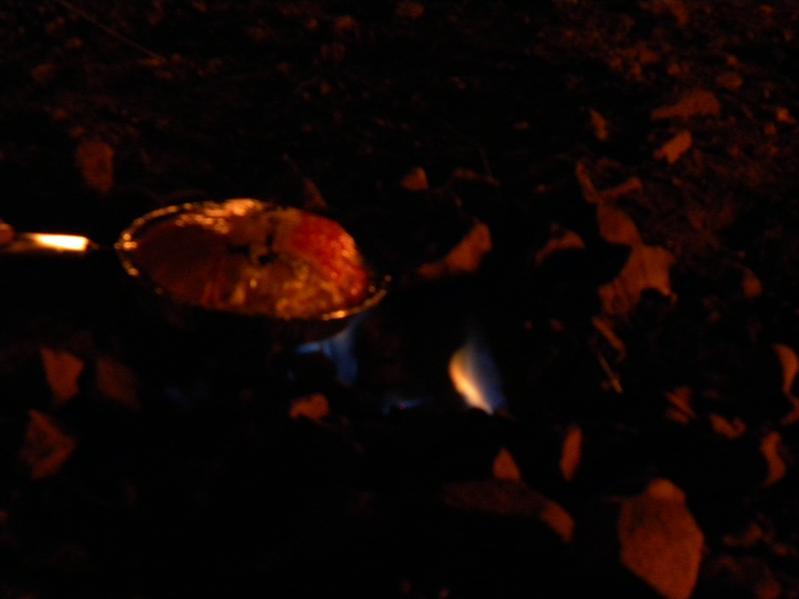 夜間的出火