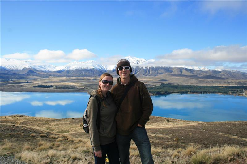 Top of Mt John, over looking Lake Tekapo.