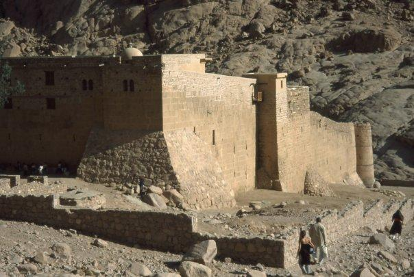 MOUNT SINAI - ST KATHERINE'S MONASTERY