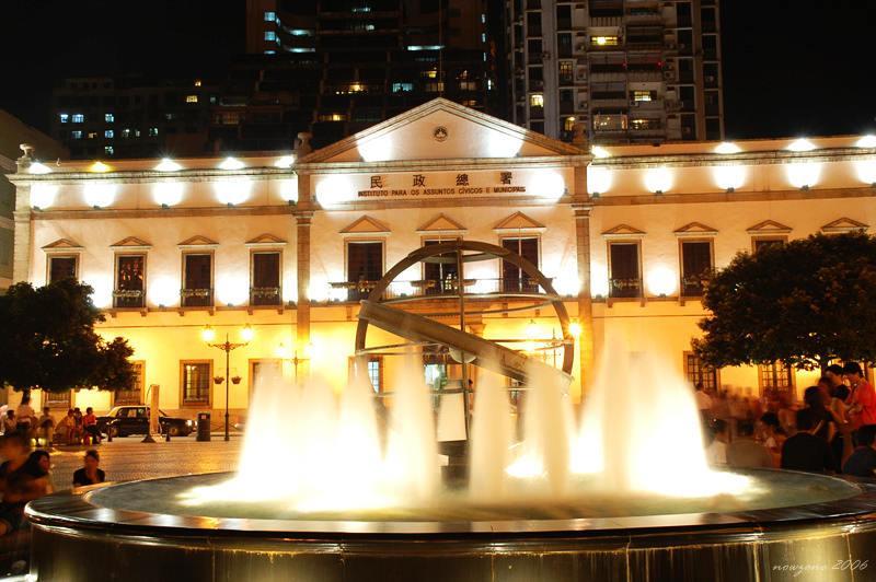 民政總署大樓(前市政廳大樓)Leal Senado Building