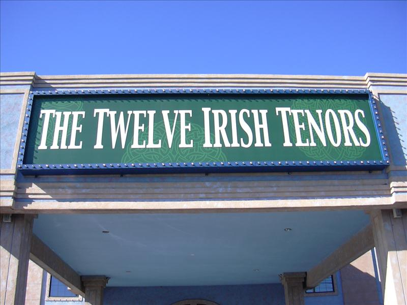 Twelve Irish Tennor Show in Branson