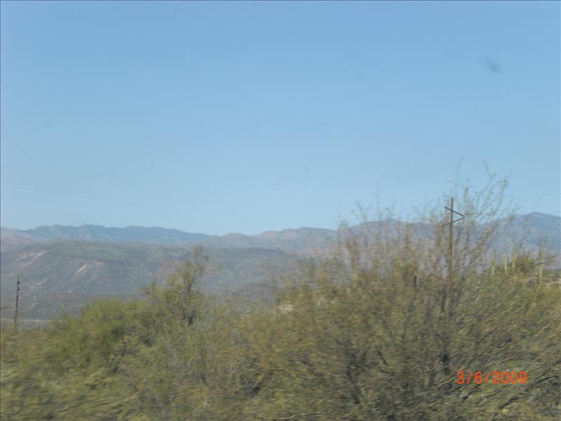 Pretty ridge along I-17