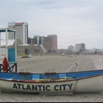 beach fun of Atlantic city