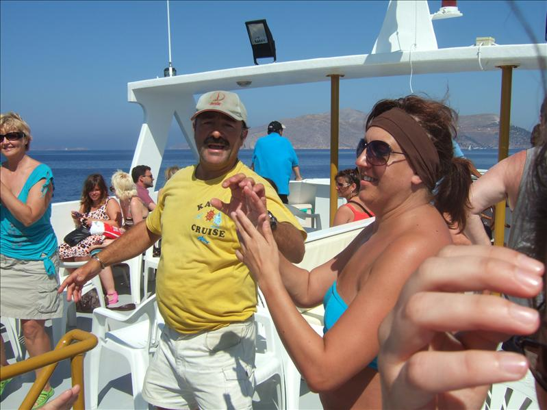 Three Islands Cruise - Greek Dancing