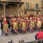 Good Friday procession at Tarragona is led by Roman soldiers ....