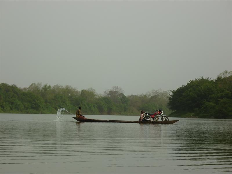 Wechiau - Transport nach Burkina Faso