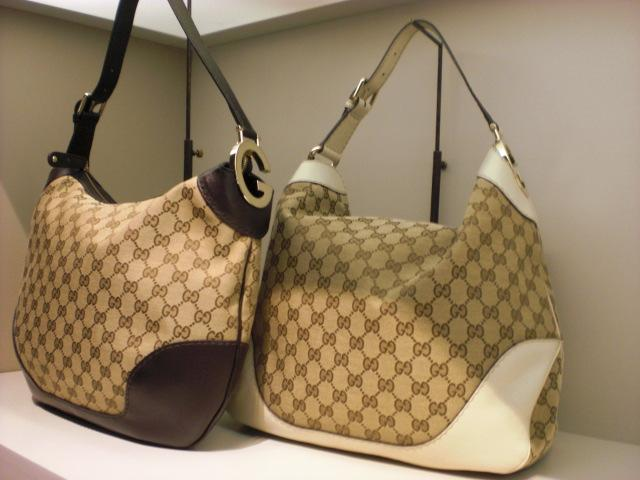 Real, honest to goodness Gucci bags