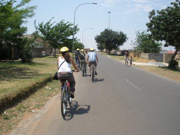 visite à vélo