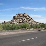 Boulder bei Phoenix
