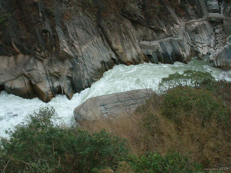 Upper Hutiao (Tiger Leaping) Gorge (上虎跳峽)