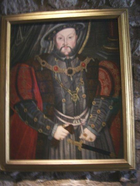 A picture of King Henry VIII.