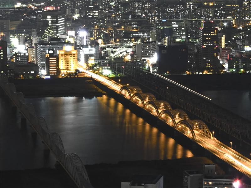 Yodogawa River at Night!